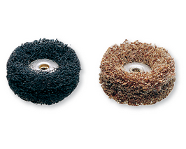 511E EZ Lock Coarse Grit and Medium Grit Finishing Abrasive Buffs